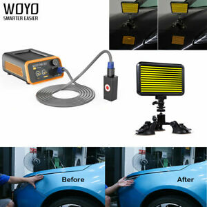 Woyo Pdr007 Auto Body Paintless Dent Repair Removal Tool With Led Pdr Light