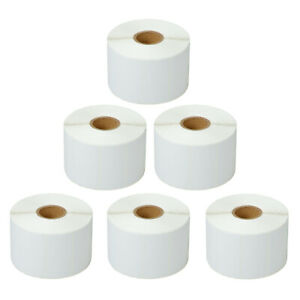 6 Rolls 2 x1 Direct Small Address Label For Zebra Lp 2442 2642 1300labels roll