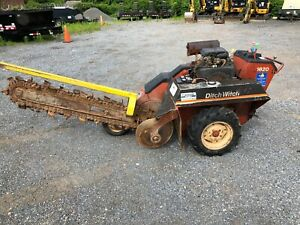 Ditch Witch Dw1820 Trencher Low Hours