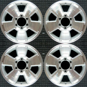 Set 2003 2004 2005 2006 2007 2008 2009 Toyota 4runner Oem 17 Wheels Rims 69429