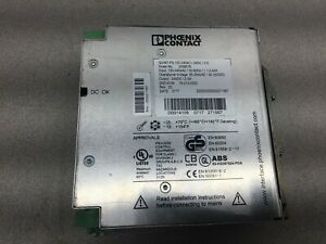 Used Phoenix Contact 24vdc Power Supply Quint ps 100 240ac 24dc 2 5