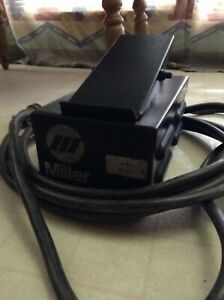 Miller Rfcs 23 Foot Control For Wire Feeder