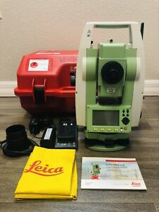 Leica Ts02 3 Ultra R1000 Reflectorless Total Station For Surveying