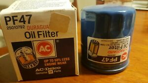 Engine Oil Filter Acdelco Pf47