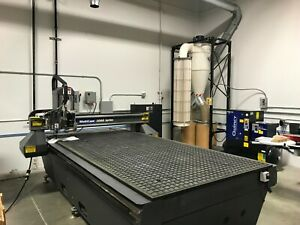 2005 Multicam Cnc Router And Knife System 3000 Series 5x10 Servo Drive System