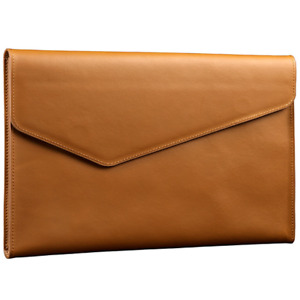 Genuine Leather Business A4 Document Folder Cowhide File Pouch New