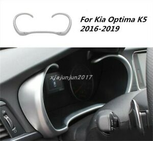 Abs Chrome Car Interior Front Dashboard Cover Trim For Kia Optima K5 2016 2019