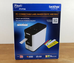 New Brother P touch Pt p700 Label Thermal Printer For Pc And Mac