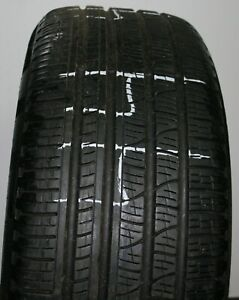1 Used Pirelli Scorpion Verde 255 50r19 Xl 107h Run Flat A S Tire Patched 44