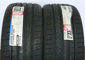 2 New 275 40r20 Falken Azenis 453 Cc 106y Tires Tire 2754020 275 40 20