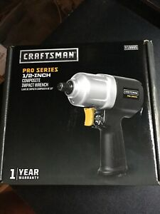 Craftsman Composite Impact Wrench Pro Series 1 2 Inch Drive 919865 Brand New