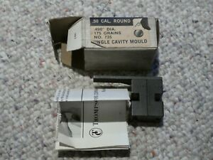 THOMPSON CENTER .490 50 CAL ROUND BALL Bullet Mold TC Mould FREE SHIPPING