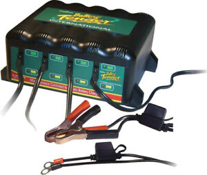 Battery Tender 022 0148 dl wh Multiple Bank Plus 4 Station