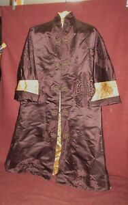 Chinese Robe Old Or Antique Silk