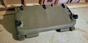 00 06 Chevy Suburban Leather Bench Seat Rear 3rd Last Third Row Gray