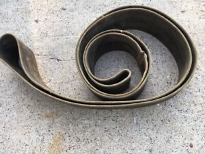 Vintage Hit Miss Steam Engine Flat Pulley Belt Ford Tractor Woodsaw App 14