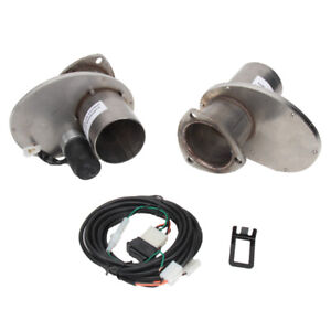 Patriot Exhaust Electric Cutouts 3 Inch Tube Diameter