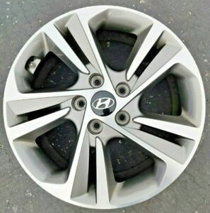Hyundai Sonata Elantra 2016 2017 17 5 Double Spoke Factory Oem Wheel
