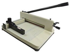 Brand New A4 All Steel 12 2in Stack Paper Cutter Guillotine Trimmer