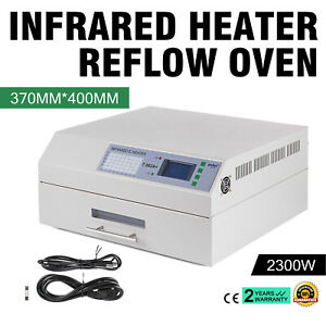 T 962a 2300w Infrared Smd Bga Ic Heater Reflow Oven Soldering Area 370x450mm