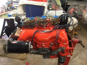 Early Chevrolet 348 Tripower Complete Motor