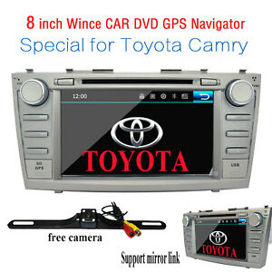 For Toyota Camry 2007 2008 2009 2010 2011 Car Dvd Stereo Radio Gps Rear Camera