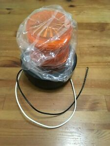 New Unused Federal Signal Horn Strobe 120vac 85db Amber Avi 120a
