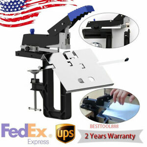 Dual Flat Riding Nail Saddle Stitch Stapler Book Binding Machine Manual Us Stock