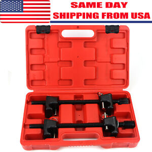 Coil Spring Compressor Garage Tool For Macpherson Struts Shock Absorber Car 2pc