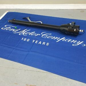 1935 1941 Ford Truck 33 Black Tilt Steering Column No Key Col Shift Trans New