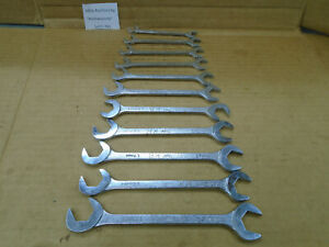 C781 Mac Tools 11pc Metric Angle Wrench Set 9mm To 19mm 15 And 60 Degree 4 Way