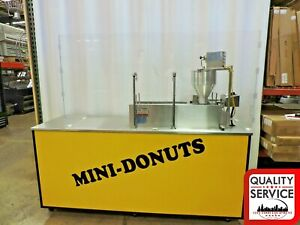 Lil Orbits Ss1200 Mini Donut W Down Draft Filtration Fire Suppression System