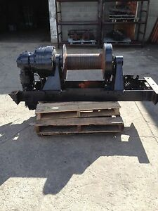 Braden Winch Hp70a 80128 064 01 05053 Hydraulic Planetary Used tested