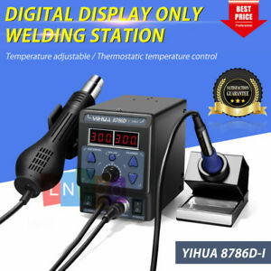 Yihua 700w 110v 8786d i 2 In 1 Soldering Rework Station Iron Esd Welder Hot