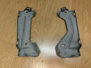 1970 Chevelle Grille Brackets Pair Beadblasted Western Parts Oem Gm