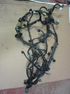 03 Acura Cl Type S 6 Speed Engine Motor Wiring Harness Oem 6spd Manual 2003
