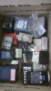 Vintage Electronic Components Time Relays Time Switches Etc 1 Lot