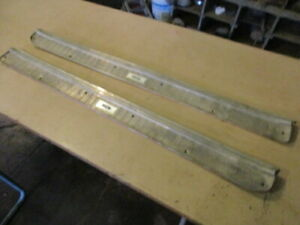 1965 Mercury Comet Caliente Two Door Sill Plates Ratrod