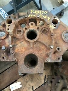 Gm 1964 64 Chevy Corvette 327 Engine Block 3782870 G 15 64