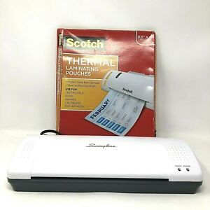 Swingline Inspire Plus Laminator Machine 9 Max Width Scotch Laminating Pouches