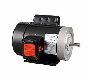 New 1hp Electric Motor 5 8 Shaft General Purpose 1 Ph 115 230v 56c 1750rpm