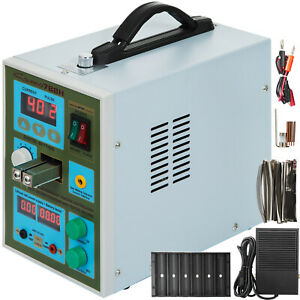 788h Led Dual Pulse Spot Welder For 18650 Battery Charge W 1kg Nickel Strip 800a