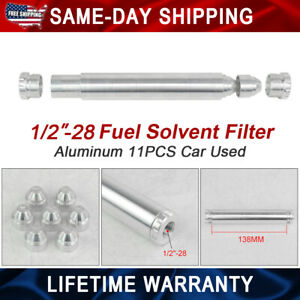 Only Car Used 1 2 28 Napa 4003 Wix 24003 Fuel Filter 1x6 Car Solvent Trap Silver