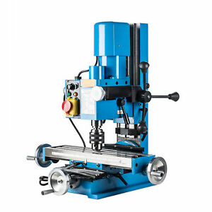 Mini Drilling Milling Machine 600w W Straightforward Gear Drive Mechanism