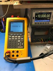 Fluke 741b Documenting Process Calibrator tested charger