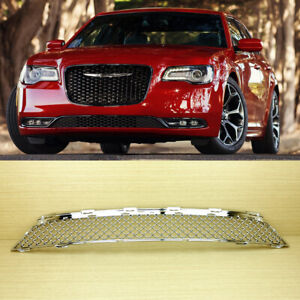 Chrome Lower Bumper Front Grille Bentley Look 2015 2017 For Chrysler 300 300c
