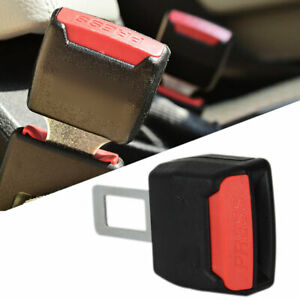 1xuniversal Car Safety Seat Belt Buckle Extension Extender Clip Alarm Stopper Us