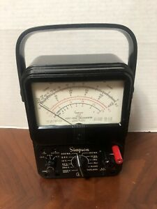 Vintage Simpson 260 Series 5 volt Ohm Milliammeter Vom As Is Untested