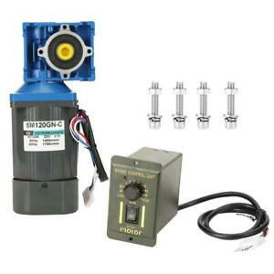 Worm Gear Motor Variable Speed Robot Gearmotor Low Speed With Governor Ac 220v
