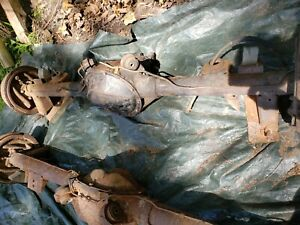 Rare 1970 Chevelle Ss 396 454 Ls6 12 Bolt Posi Rear End Differential Complete